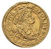 ⅓ Ducat - Leopold I (Breslau) – obverse