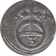 3 Pfennig - Ferdinand II – reverse