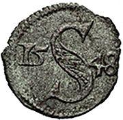 1 Heller - Ferdinand I (Breslau) – reverse