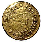 3 Kreuzer - Ferdinand III (Glatz) – obverse
