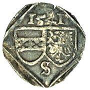1 Pfennig - Ferdinand I (Breslau) – obverse