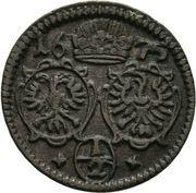½ Kreuzer - Leopold I (Oppeln) – obverse