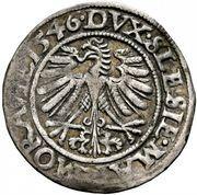 3 Kreuzer - Ferdinand I (Wroclaw) – reverse
