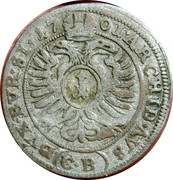 1 Kreuzer - Leopold I (Brieg) – reverse