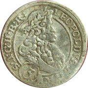3 Kreuzer - Leopold I (Brieg) – obverse