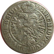 3 Kreuzer - Leopold I (Brieg) – reverse