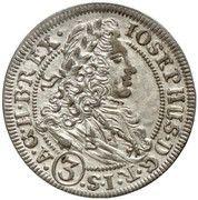 3 Kreuzer - Joseph I (Breslau) – obverse