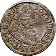 3 Kreuzer - Joseph I (Brieg) – obverse