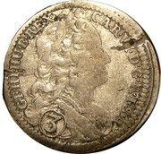 3 Kreuzer - Karl VI (Breslau) – obverse