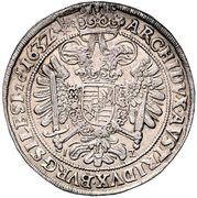 1 Thaler - Ferdinand II (Breslau) – reverse