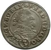 3 Kreuzer - Ferdinand II (Glatz) – obverse