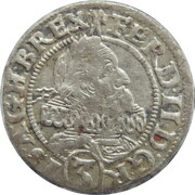 3 Kreuzer - Ferdinand II (Breslau) – obverse