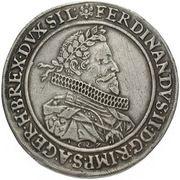 1 Thaler - Ferdinand II (Breslau) – obverse