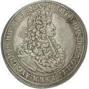 1 Thaler - Leopold I (Breslau) – obverse