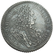 1 Thaler - Joseph I (Breslau) – obverse
