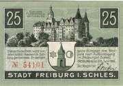 25 Pfennig (Freiburg in Schlesien) – obverse