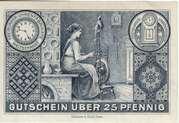 25 Pfennig (Freiburg in Schlesien) – reverse