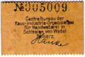 10 Pfennig (Reinerz; Handweberei) – reverse