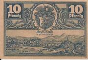 10 Pfennig (Hirschberg in Schlesien) – reverse