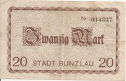 20 Mark (Bunzlau) – reverse