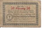 50 Pfennig (Namslau; Kaufmännischer Verein) -  obverse
