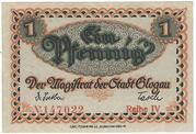 1 Pfennig (Glogau) -  obverse