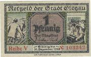 1 Pfennig (Glogau) – obverse