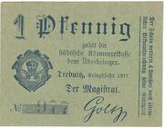 1 Pfennig (Trebnitz in Schlesien) – obverse