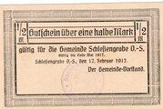 ½ Mark (Schlesiengrube) – obverse