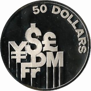 50 Dollars International Financial Center Singapore Numista