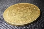 5 Cents (ribbon upwards)
