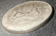20 Cents (ribbon upwards) -  obverse