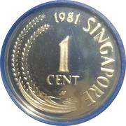 1 Cent (Silver Proof Issue) – obverse