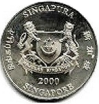 10 Dollars (Year of The Dragon) -  obverse