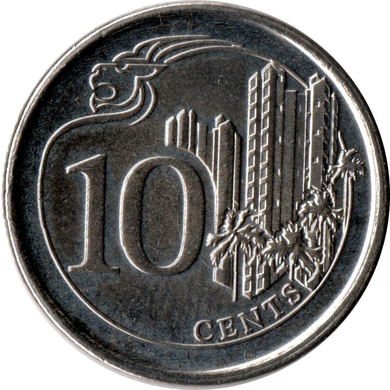 10 Cents Singapore Numista