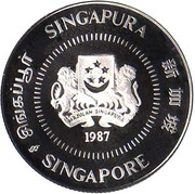 10 Cents (Silver Proof Issue) – obverse