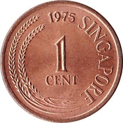 1 Cent (non-magnetic) – obverse