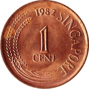 1 Cent (magnetic) – obverse