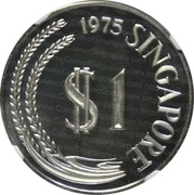 1 Dollar (Silver Proof Issue) -  obverse