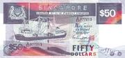 50 Dollars (grey) – obverse