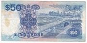 50 Dollars (blue) – reverse