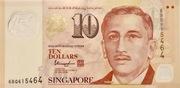 10 Dollars (Monetary Authority of Singapore; polymer) – obverse