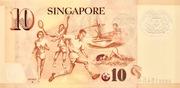 10 Dollars (Monetary Authority of Singapore; polymer) – reverse