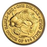 1 Dollar (Gold Bullion) – reverse