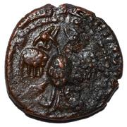 Dirham - 'Imad al-Din Zangi II (Zengid of Sinjar) – obverse