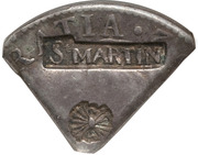 18 Stuivers (Arrows and StMARTIN countermark) – obverse