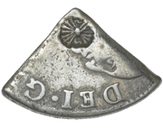 18 Stuivers (Arrows countermark) – obverse