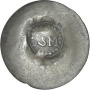 Cayenne Stuiver (Round SM countermark) – obverse