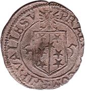 ½ Batzen - Adrian III – reverse