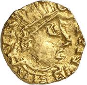 Tremissis - Mundericus (Sedunum, Merovingian Mint) – obverse